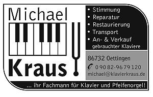 Michael Kraus - Klavier und Kirchenorgel